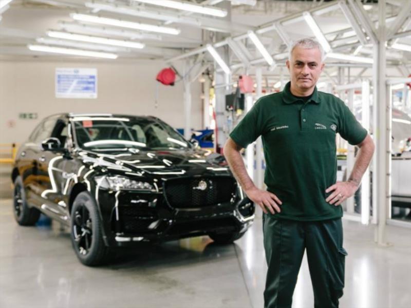 Jaguar F-Pace número 100 mil es para José Mourinho