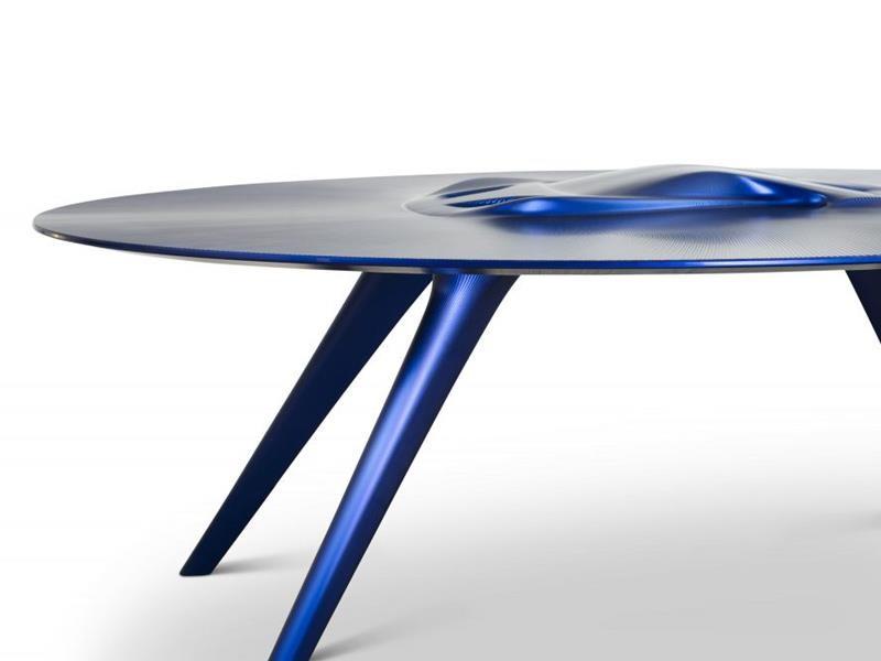 Exclusivas mesas inspiradas en el Ferrari F40 y Ford GT