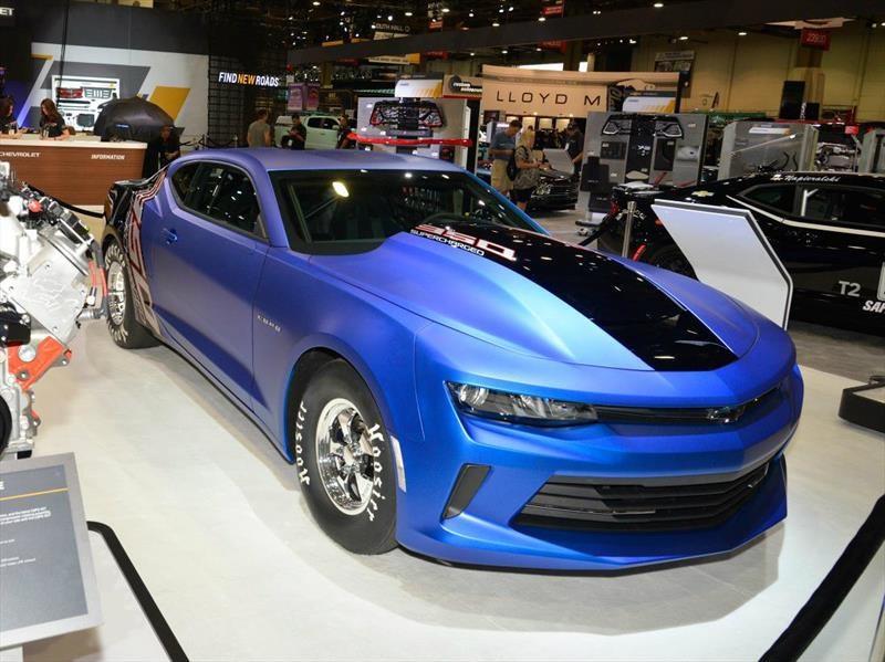 La mejor coupé del SEMA Show es el Chevrolet Camaro