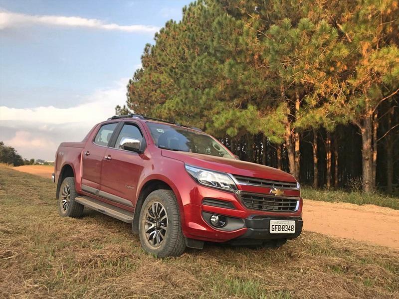 Así es la nueva Chevrolet Colorado que está pronto a debutar en Chile