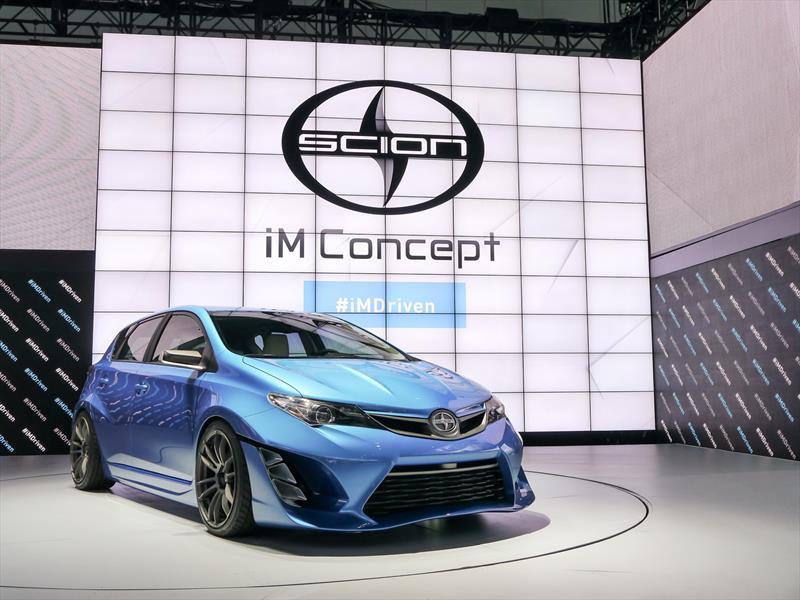 Saln De Los Angeles 2014 Scion Im Concept Basado En Un Toyota