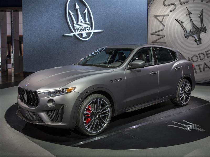 Maserati Levante Trofeo 2019 ahora cuenta con un V8 de Ferrari