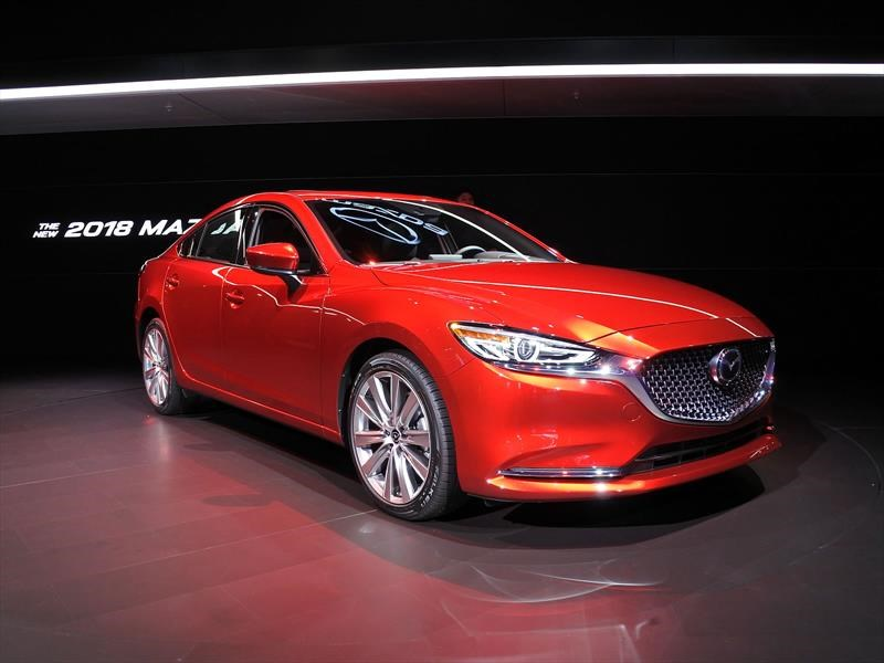auto show de los ngeles 2017 mazda 6 2018 estrena motor turbo y mejores acabados noticias. Black Bedroom Furniture Sets. Home Design Ideas