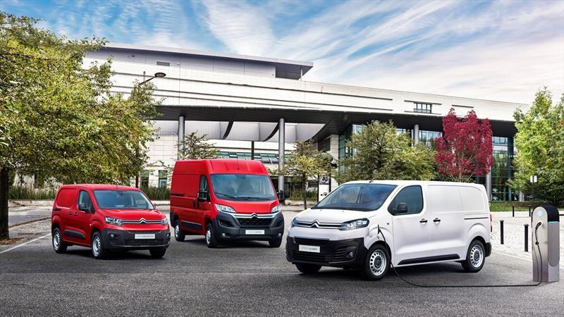 Vehículos comerciales de Citroën preparan ofensiva eléctrica