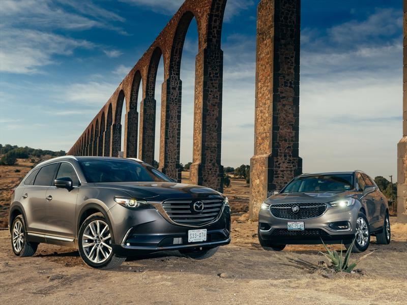 Comparativa: Buick Enclave 2018 vs Mazda CX-9 2018