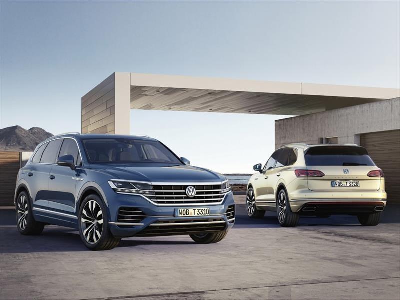 Volkswagen Touareg 2019, más torque y lujo