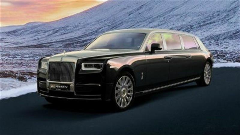 Este impresionante Rolls-Royce Phantom es más que una limusina blindada