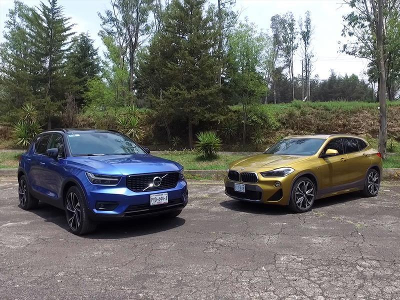 Frente a frente: Volvo XC40 2019 vs BMW X2 2018
