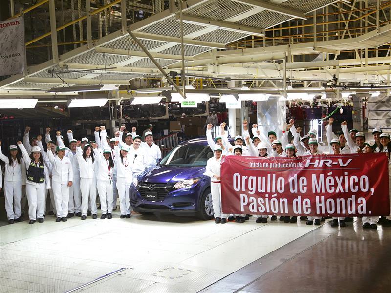 Honda HR-V 2016 inicia producción en México