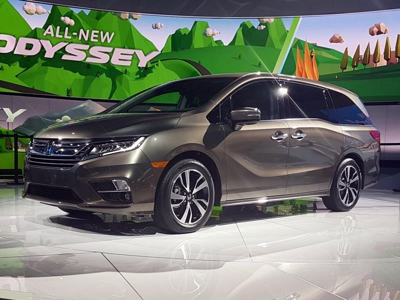 2017 Honda Odyssey Se >> Auto Show de Detroit 2017 - Honda Odyssey 2018, la minivan ...