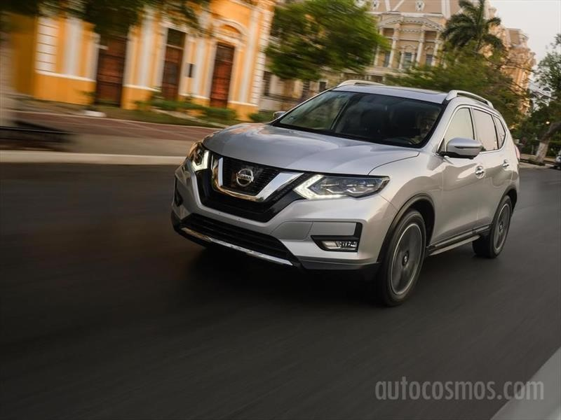 Probando el Nissan X-Trail 2018