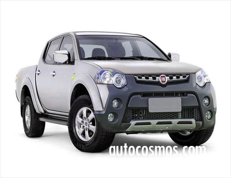 fiat podr a tener una pick up basada en la pr xima mitsubishi l200. Black Bedroom Furniture Sets. Home Design Ideas