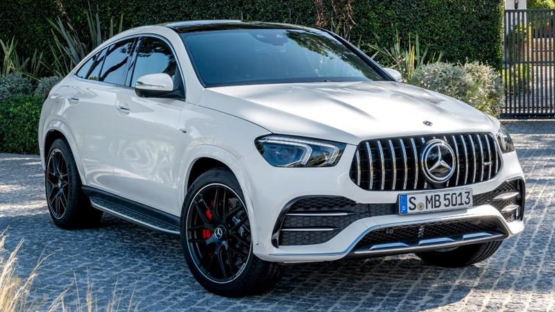 Mercedes-AMG GLE 53 Coupe 2021, lujo y poder al por mayor