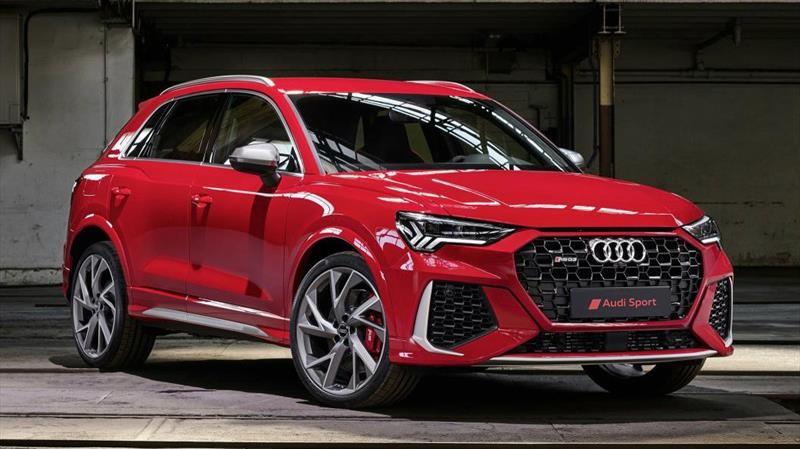 Audi Q3 RS 2021 es un letal SUV con 400 hp