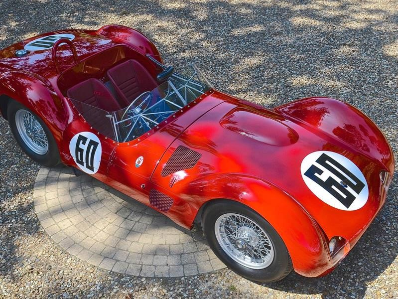 2 legendarios Maserati salen a subasta