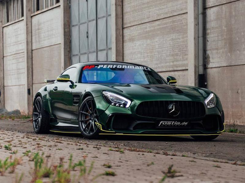 Mercedes-AMG GT por Fostla, agresivo y potente