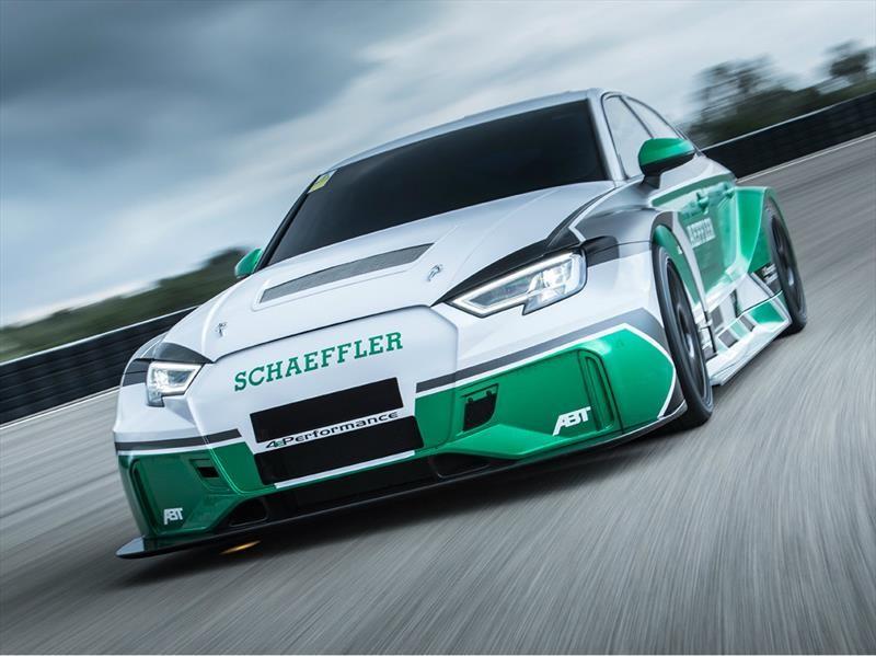 Schaeffler 4ePerformance es un Audi RS3 eléctrico con más de 1,100 hp