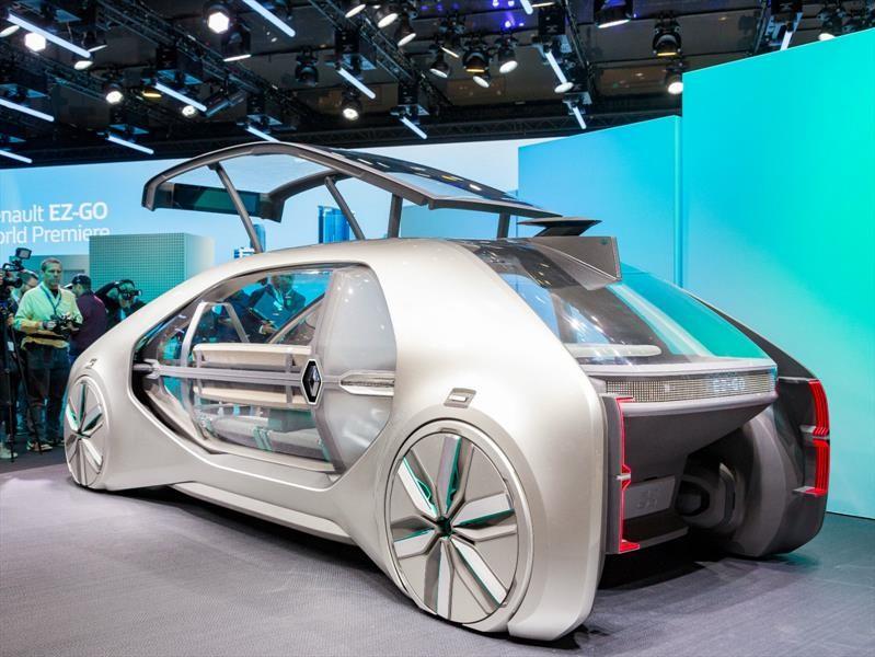 Renault EZ-GO Robo-Vehicle Concept, conoce al taxi del futuro
