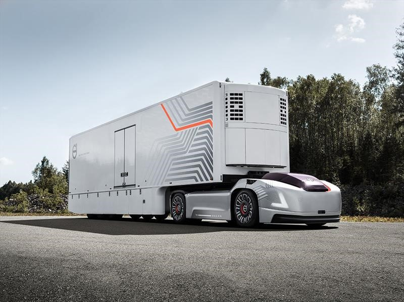 Volvo Vera, un concept truck...¡que no tiene cabina!