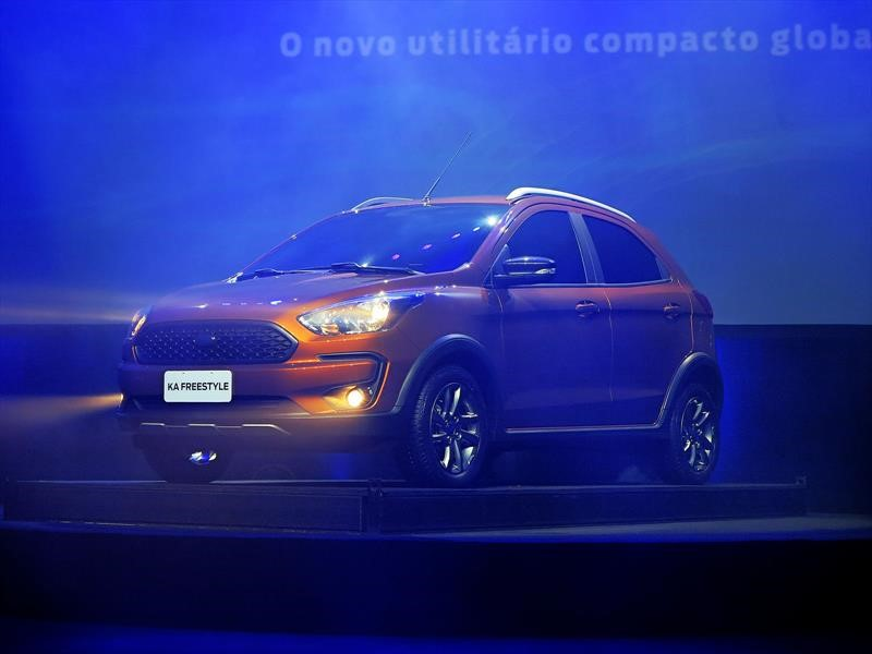 Ford Ka Freestyle, el aventurero que se viene a Argentina