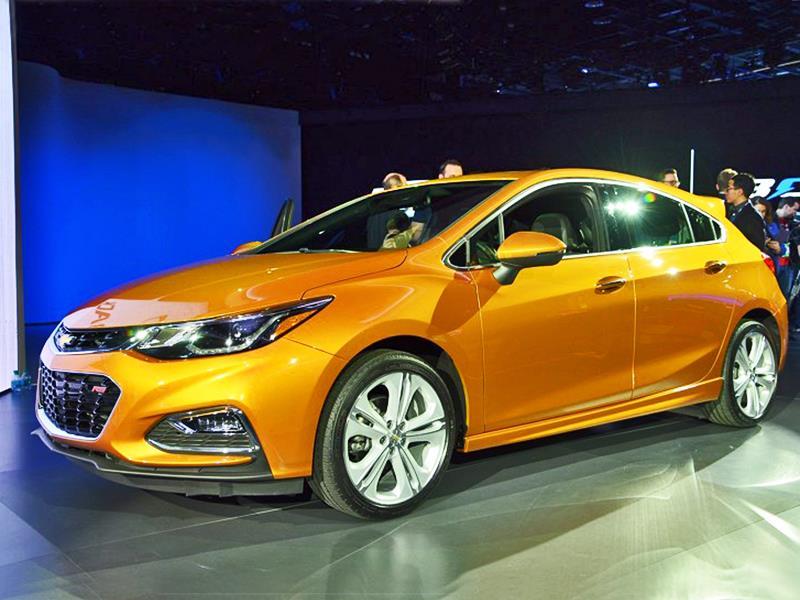 Chevrolet Cruze Hatchback 2017: Estreno en Detroit
