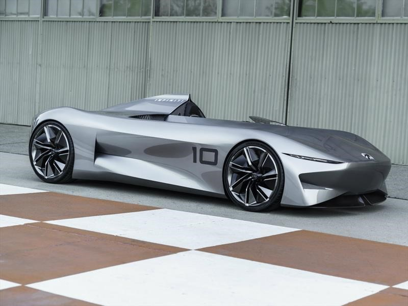 Infiniti Prototype 10, un espectacular concepto que fusiona el pasado y el futuro