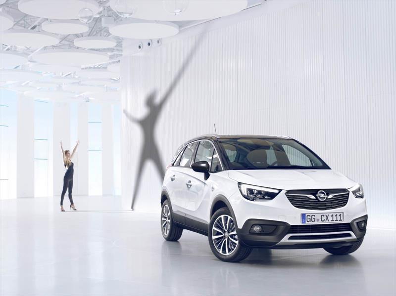 Crossland X, el nuevo crossover de Opel ve la luz
