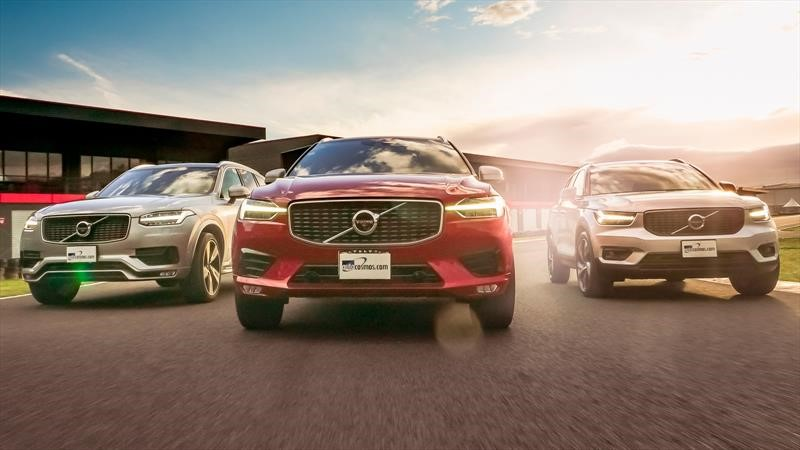 Gama de SUVs de Volvo, lujo y diseño escandinavo