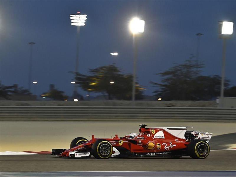 F1 2017: Ferrari gana en el GP de Bahrein