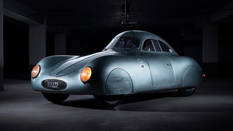 El primer Porsche de la historia no pudo subastarse