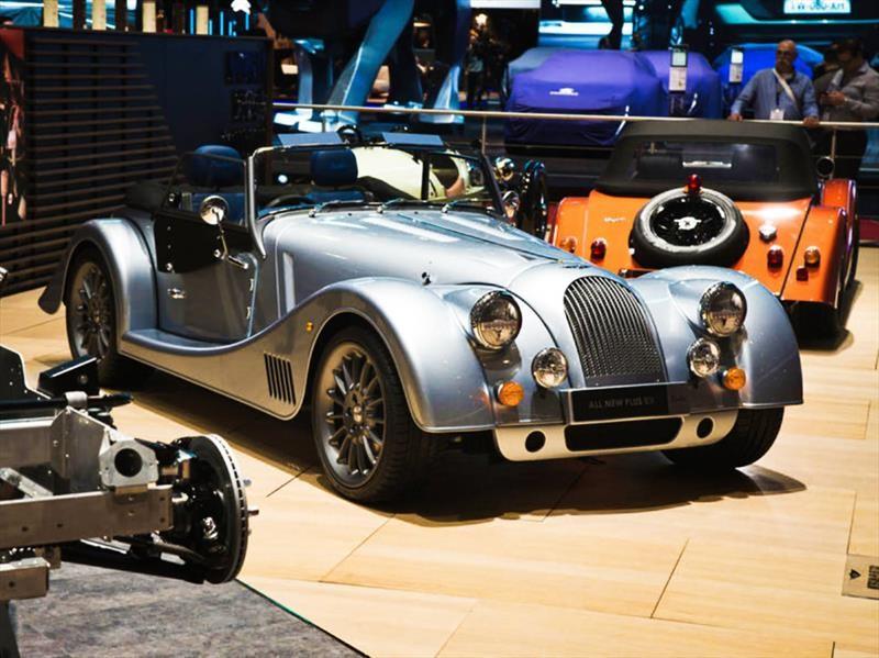 Morgan Plus Six 2020, clásico por fuera, moderno por dentro