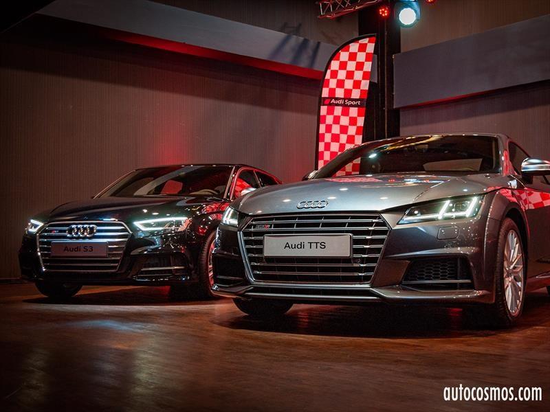 Audi Sport nutre su gama deportiva en Chile con el S3 Sportback, S4 Sedán y TT S Coupé