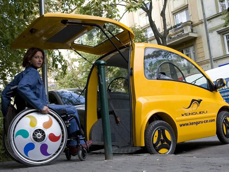 kenguru una soluci n de movilidad para personas con discapacidad. Black Bedroom Furniture Sets. Home Design Ideas