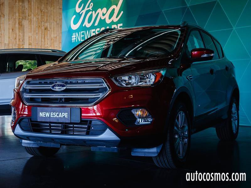 Ford Escape 2017: nuevo diseño y una inédita versión diésel