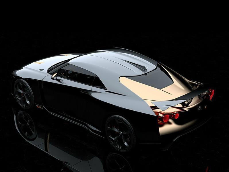 Nissan GT-R50 por Italdesign celebra 50 años del GT-R