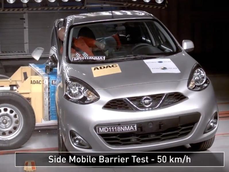 LatinNCAP probó al Nissan March