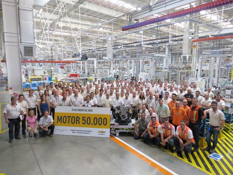 GM alcanza los 50.000 motores 1.4 T producidos en Argentina