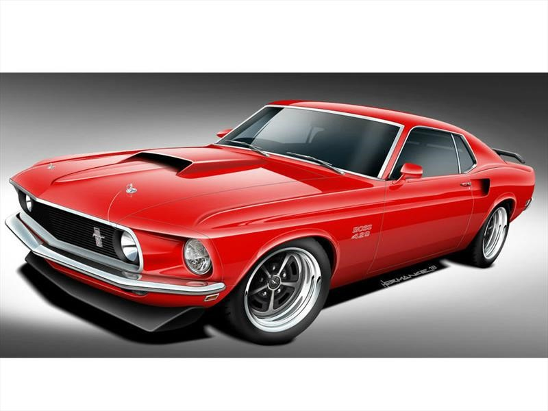 Classic Recreations resucita al Ford Mustang Boss 429