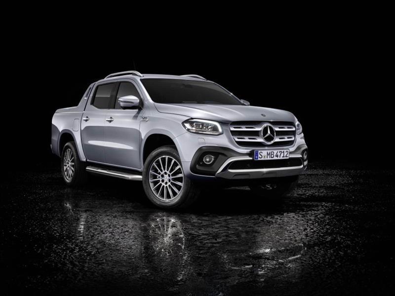 Pick-up de Mercedes-Benz recibe motor V6