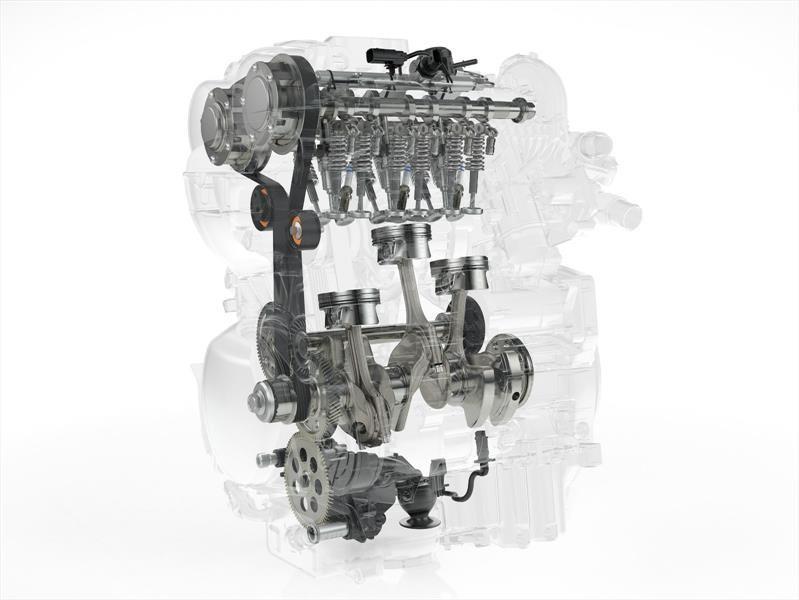 Volvo desarrolla un eficiente motor a gasolina de 3 cilindros