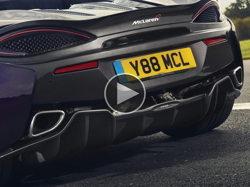 Así suena el McLaren 570S con el escape de titanio SuperSports Exhaust