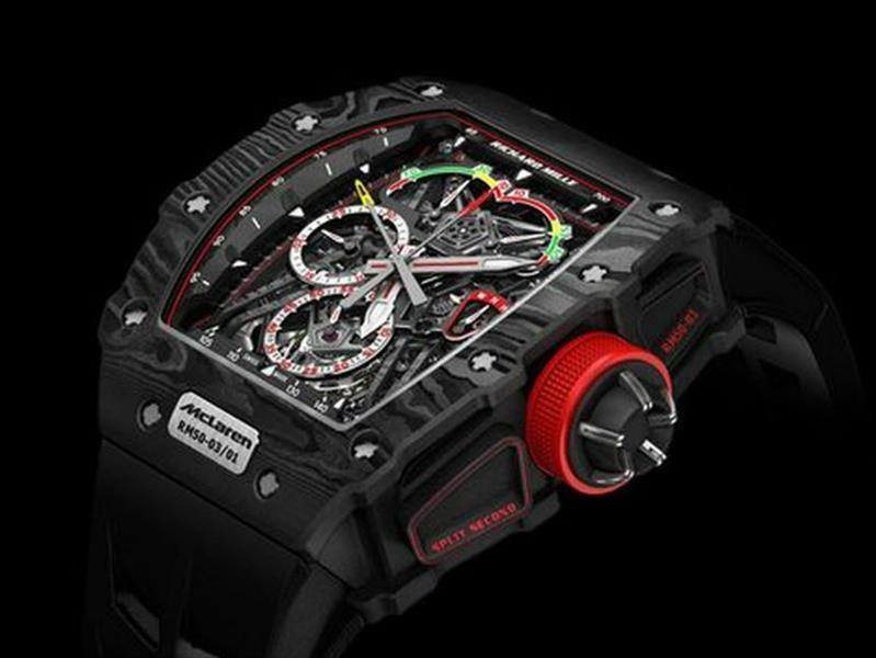 Richard Mille RM 50-03 McLaren F1, un reloj ultra-ligero