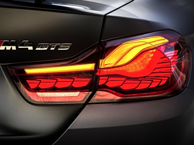 BMW M4 GTS es el primer carro con iluminación OLED
