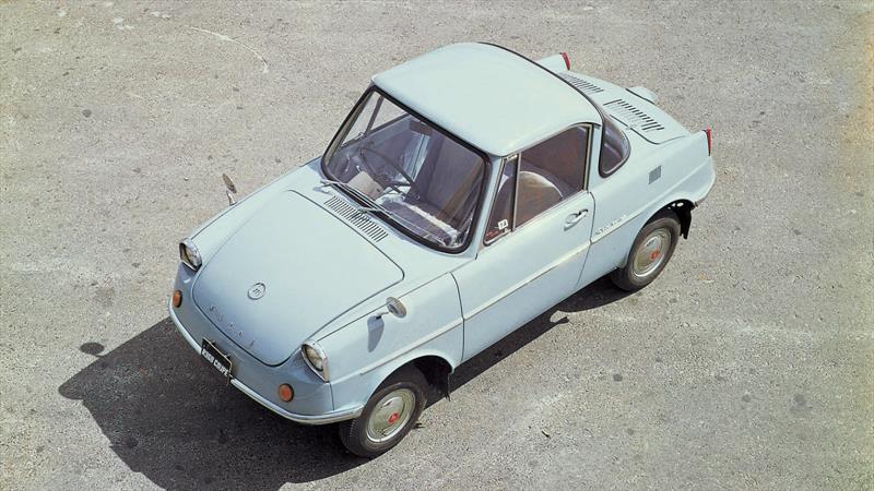 La historia del R360, el primer automóvil de Mazda