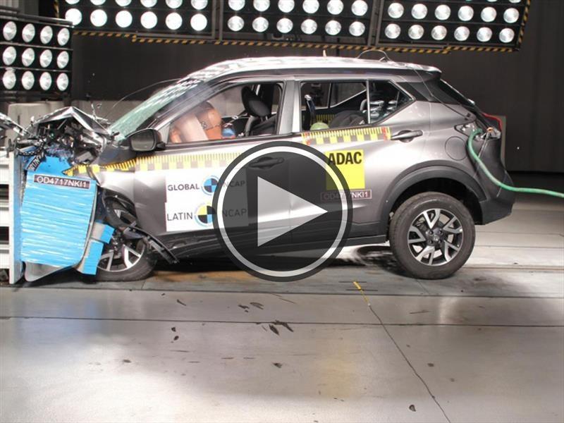 Nissan Kicks obtiene 4 estrellas en pruebas de Latin NCAP