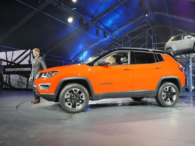 Jeep Compass 2017, va por el segmento de los SUVs pequeñas