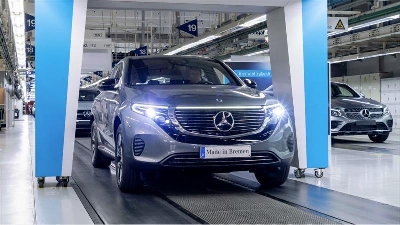 Mercedes-Benz comienza la producción del EQC, su primer vehículo 100% eléctrico