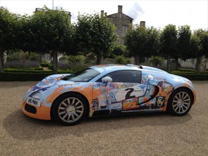 BugARTi Veyron se presenta en Wilton Classic and Supercar Day
