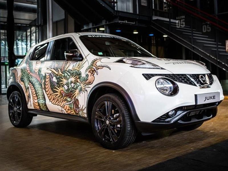 Nissan JUKE se tatúa en París