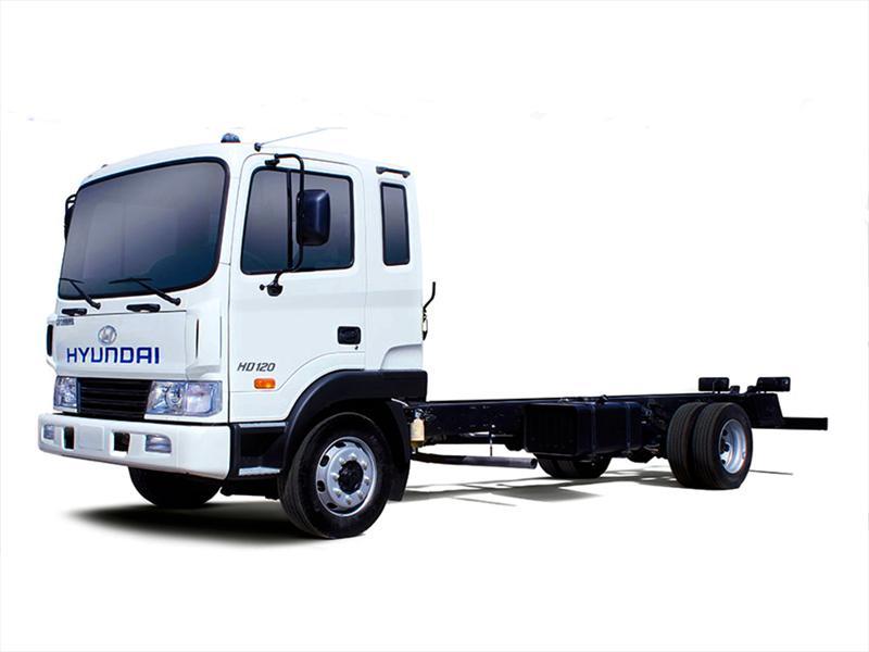Nuevo camión Hyundai HD120 inicia venta en Chile